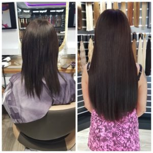 Haarverlaengerung salon Hair Extensions